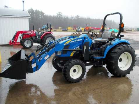 Traktor new holland boomer 3c04c5
